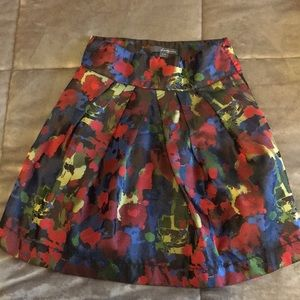 Colorful Patterned Skirt !